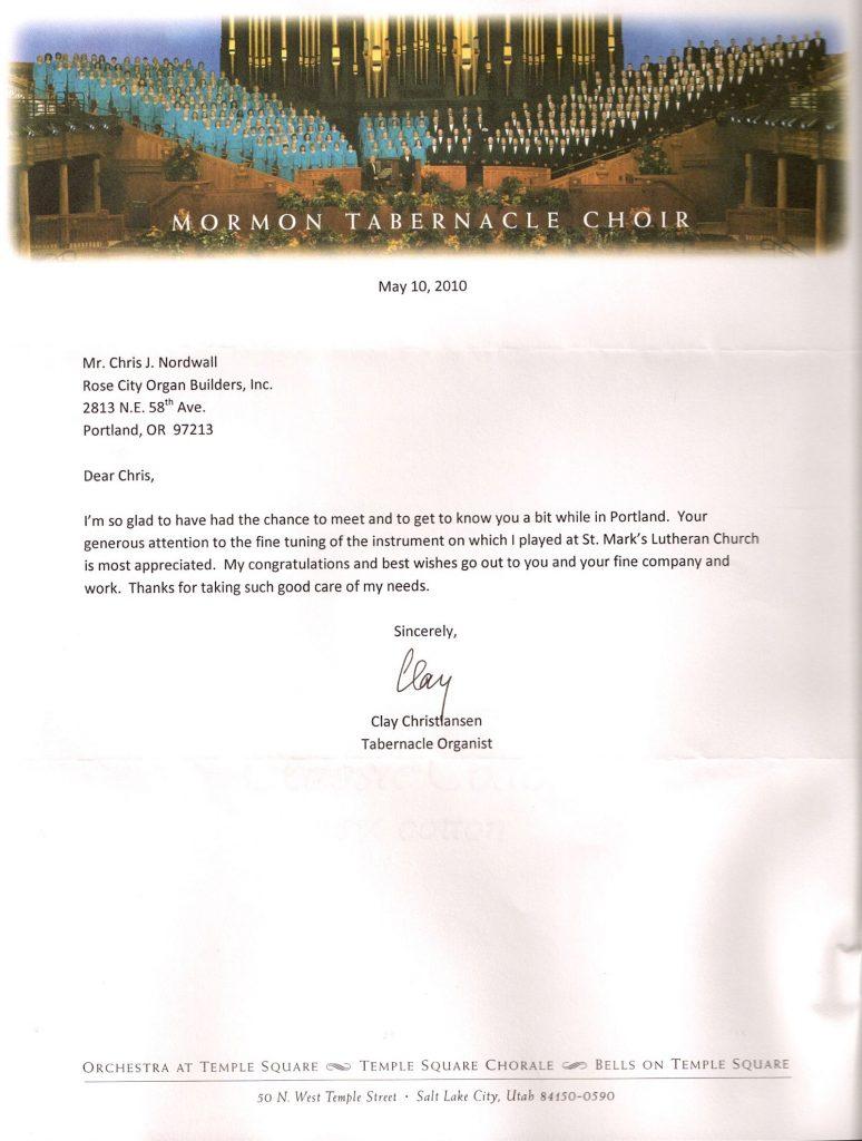 LDS-Letter